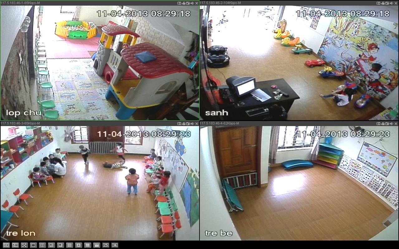 lắp đặt camera quan sát trường học