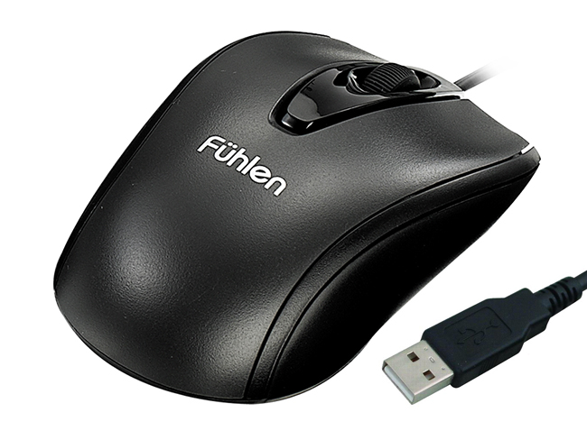 Chuột Fuhlen L102 Optical Black USB
